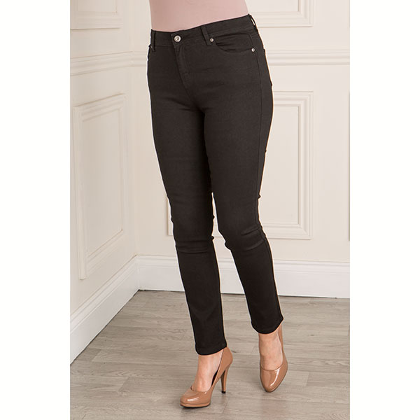 Sugar Crisp Shape and Lift Slim Fit Jean 27 Inch Black
