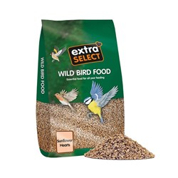 Extra Select 2kg Bag Sunflower Hearts x 6