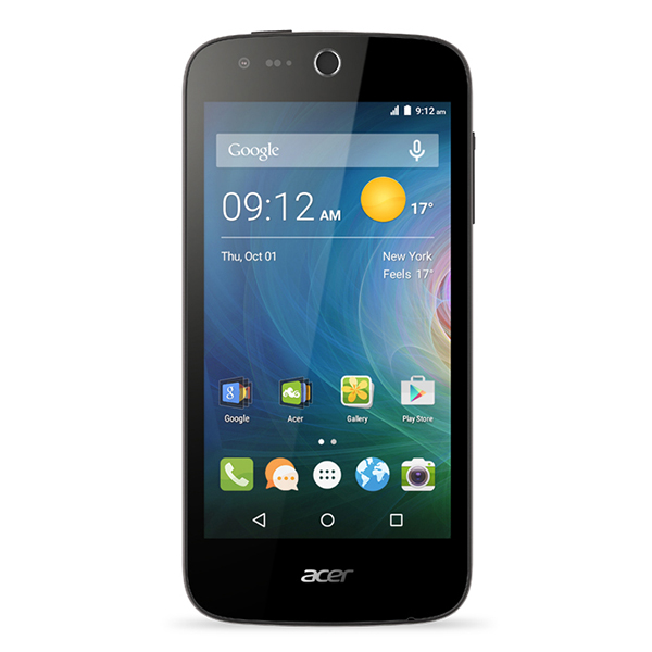 Acer Z330 4.5 inch 4G Smartphone with HDIPD Display Quad Core 8GB Storage Android 5.0 5MP & 5MP Cameras & 2 Year Warranty 355665
