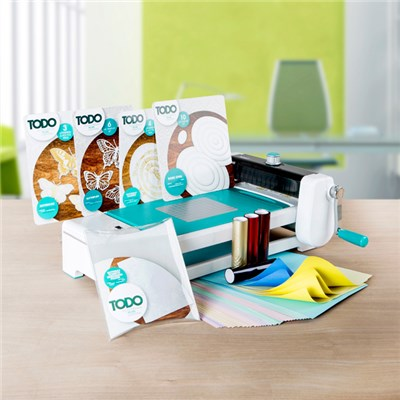 TODO Multi-functional Crafting Machine with Butterfly Accessory Bundle and Foils