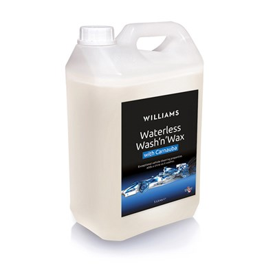 Williams Waterless Wash and Wax 5 Litre Refill with Trigger