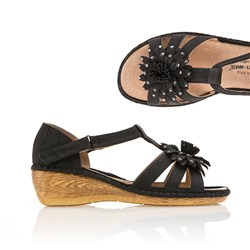 Cushion Walk Comfort Floral Sandal