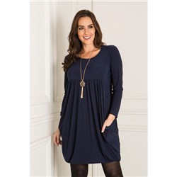 Nicole Empire Drape Dress