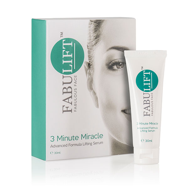 Fabulift Fabulous Face 3 Minute Miracle Advanced Formula Lifting Serum 30ml No Colour