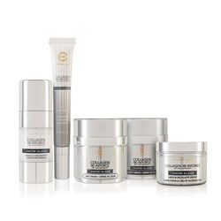 Elizabeth Grant Re-inforce Snow Algae Day Cream 50ml, Night Cream 50ml, Eye Treatment 20ml, Miracle Concentrate 40ml and Neck & Decollete Cream 50ml