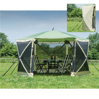 Instant Spring Up Screen House 6 with 1 Pair of Sidewalls