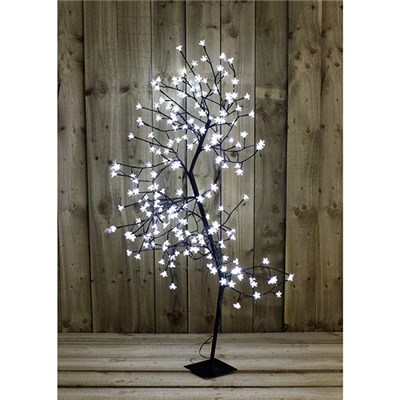 White Blossom LED 150cm Bonsai Tree