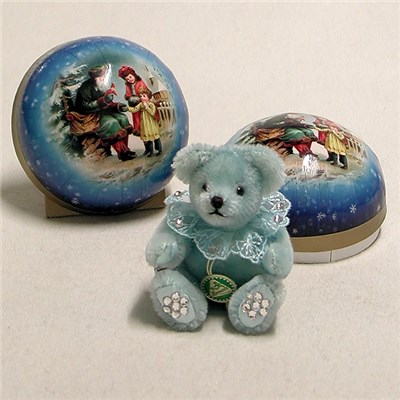 A Little Christmas Surprise Bear - Little Ice Crystal - by HERMANN - Spielwaren - Limited Edition 100 Pieces