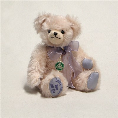 Lucky Stone Bear - Amethyst by HERMANN - Spielwaren - Limited Edition 25 Pieces