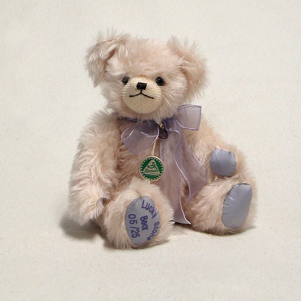 Lucky Stone Bear - Amethyst by HERMANN - Spielwaren - Limited Edition 25 Pieces No Colour