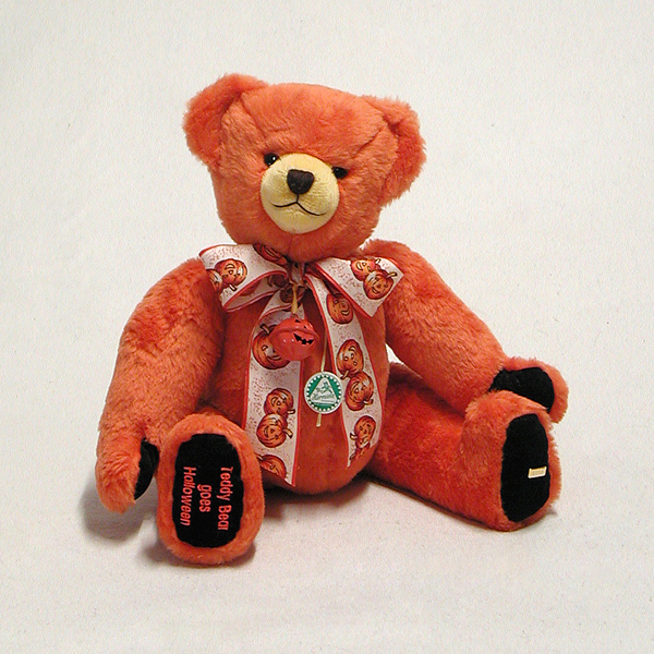 Teddy Bear Goes Halloween - by HERMANN - Spielwaren - Limited Edition 30 Pieces No Colour