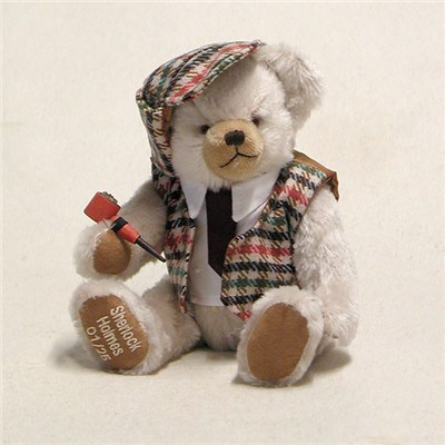 Little Sherlock Holmes Bear - by HERMANN - Spielwaren - Limited Edition 25 Pieces