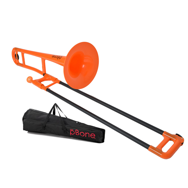 Plastic Trombone Orange