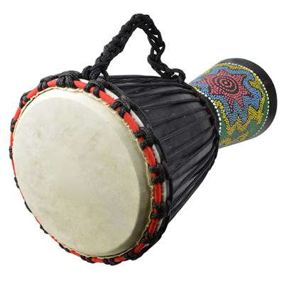 A-Star 9 inch Painted Djembe