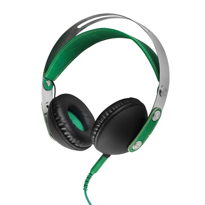 Akai On- Ear Headphones - Green