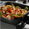 Elgento 30Cm Electric Frying Pan - Black