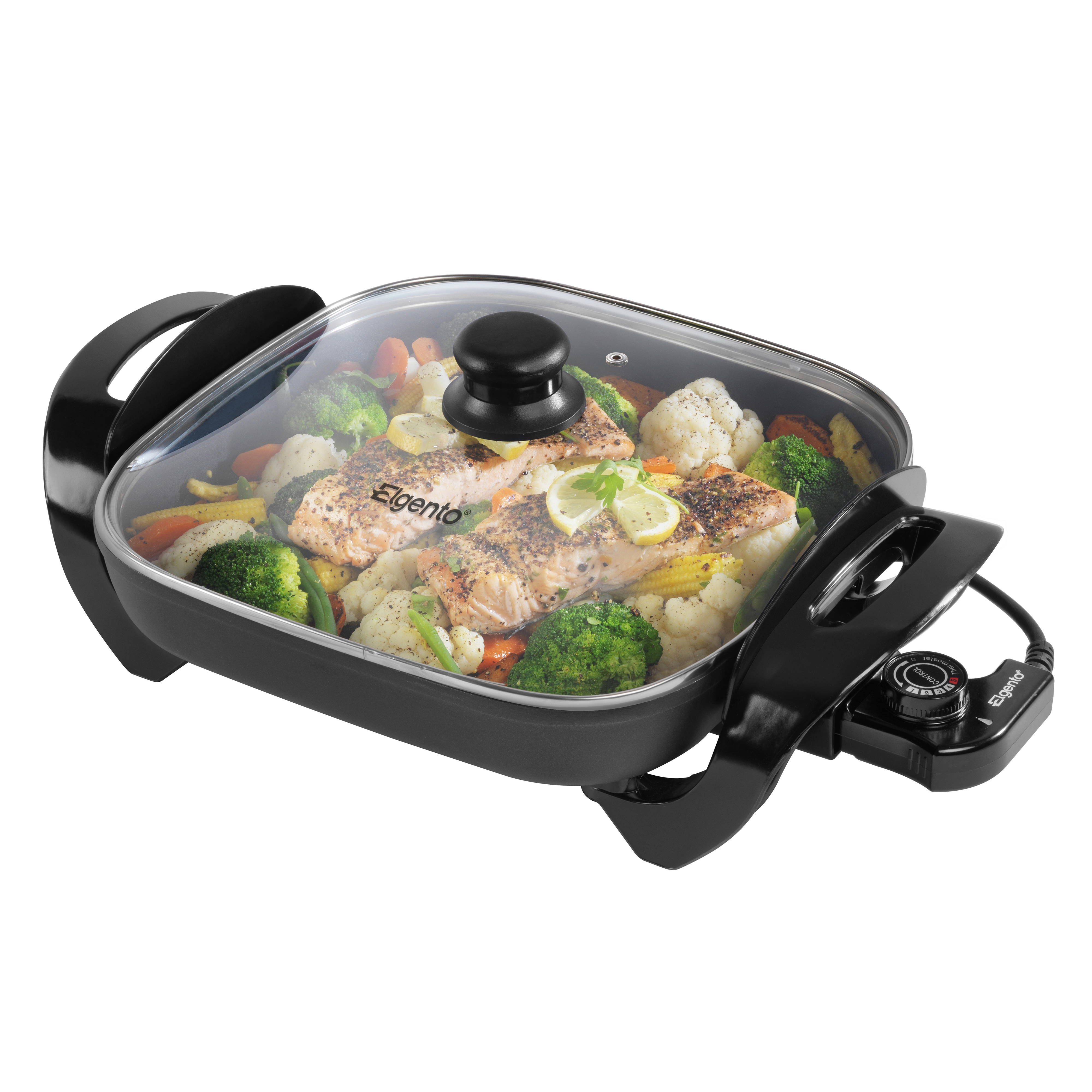 Elgento 30Cm Electric Frying Pan No Colour