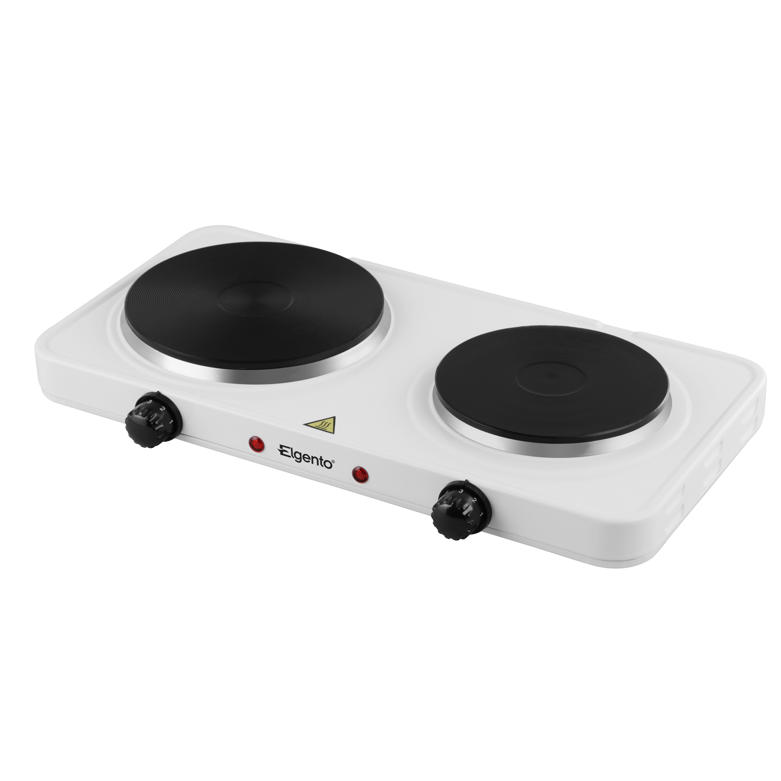 Elgento Double Boiling Ring with Cast Iron Plates No Colour