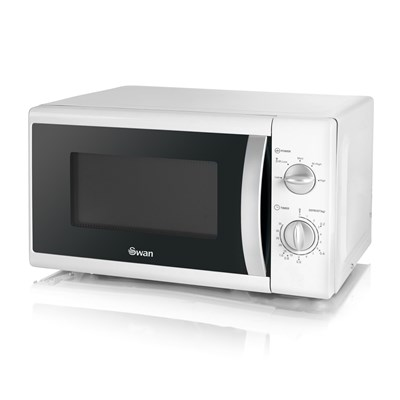 Swan 800W Solo Microwave - White