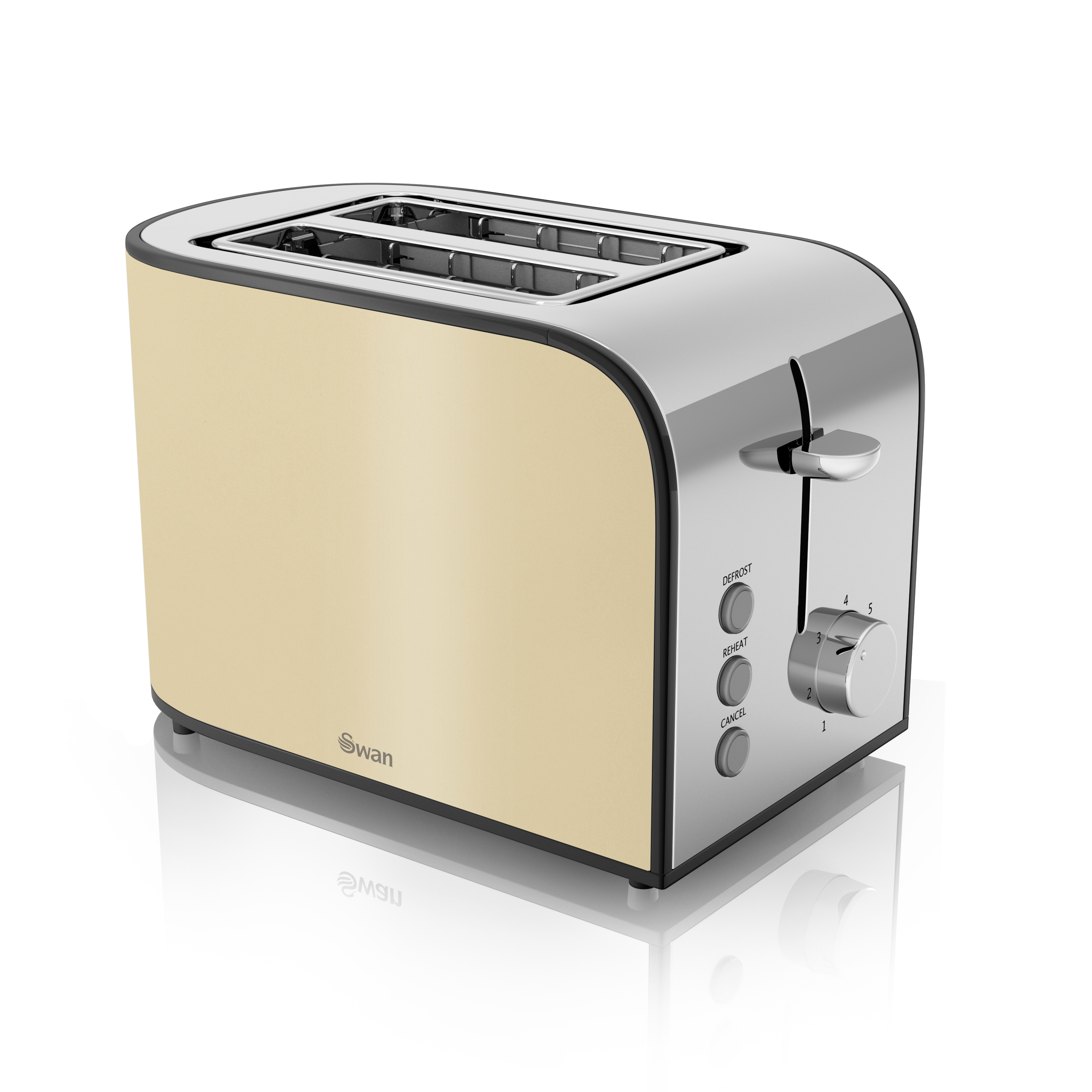 Swan 2 Slice  Toaster No Colour