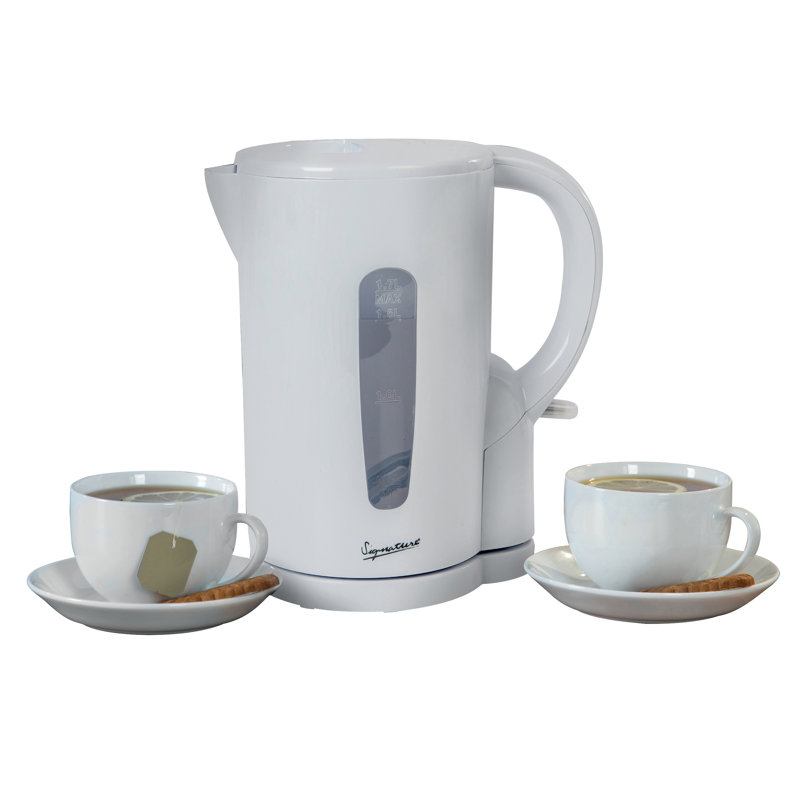 Signature 1.7 Litre Electric Kettle No Colour
