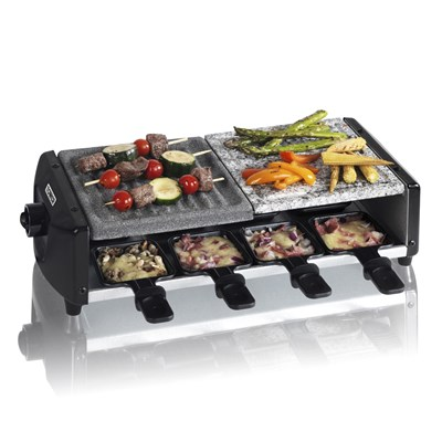 Tower 3 In 1 Cerastone Raclette - Black