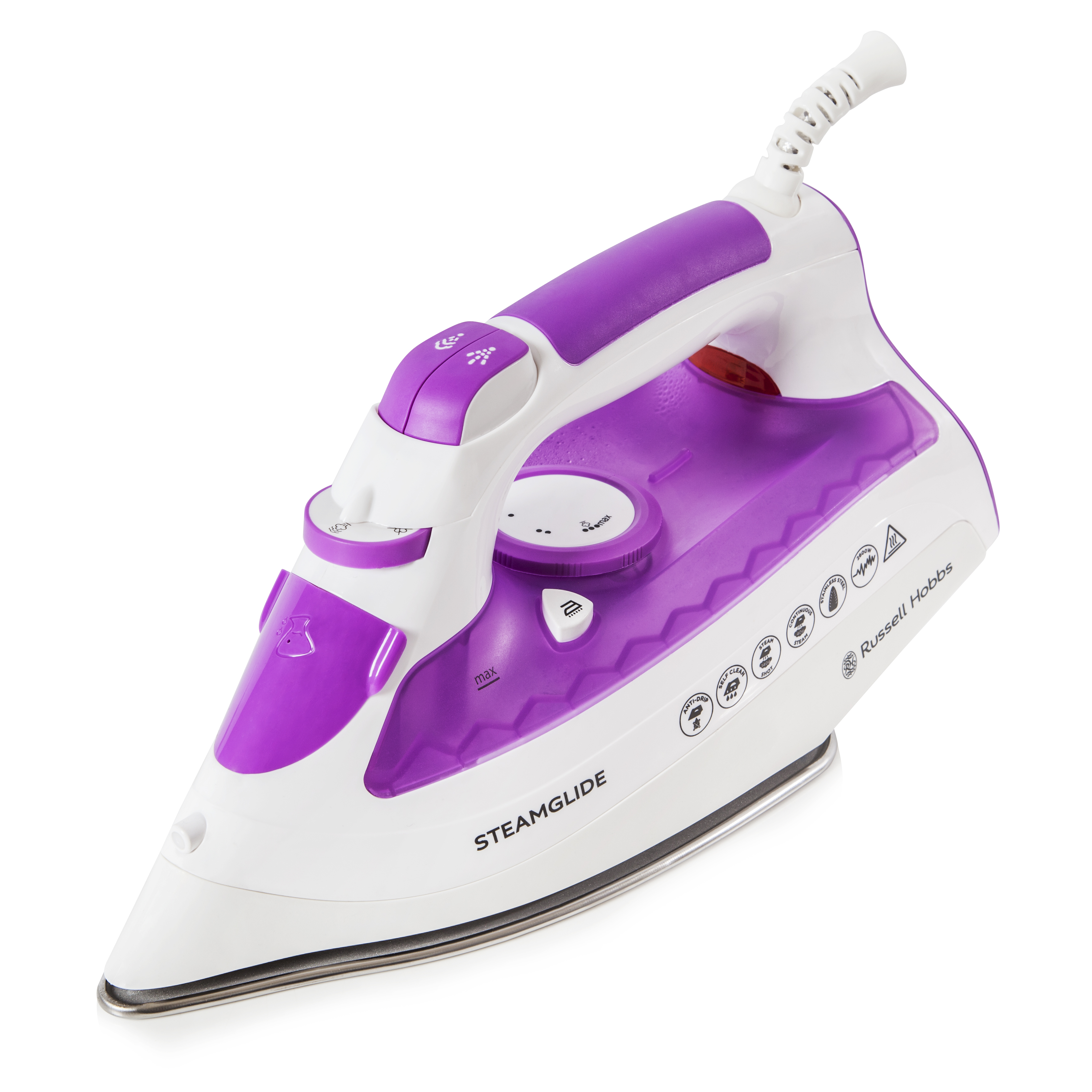 Russell Hobbs Steamglide Iron No Outer No Colour