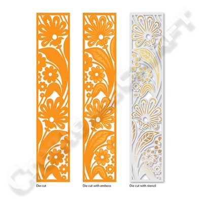 Tonic Double Detail Die and Stencil Set - Aztec Allium