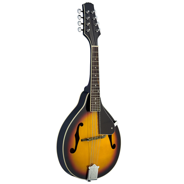Stagg M20 Traditional Bluegrass Mandolin - Violinburst No Colour