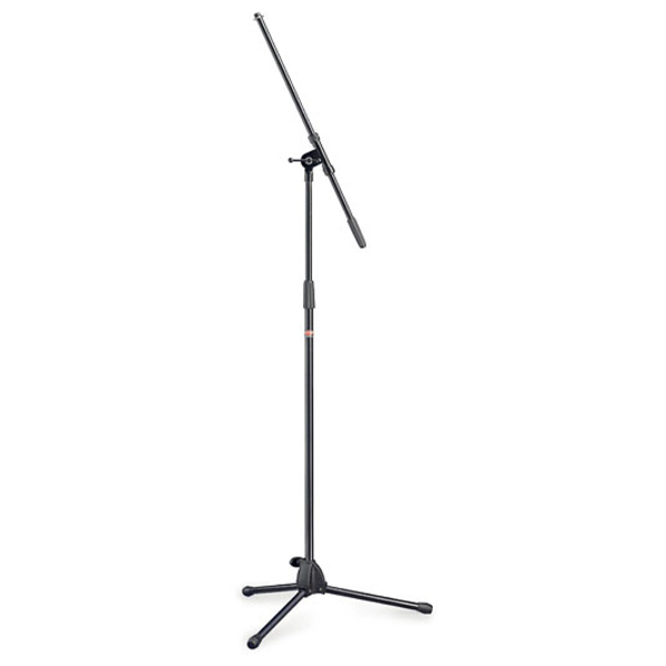 Stagg MIS-0822BK Mic Boom Stand - Black No Colour