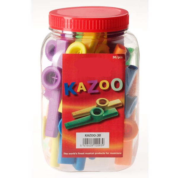 Stagg Kazoos - Pack of 30 No Colour