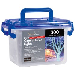 Tub of 300 Connectable Outdoor LED Lights