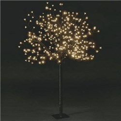 Outdoor LED Cherry Blossom Tree - 1.8m with 350 Static LED Lights