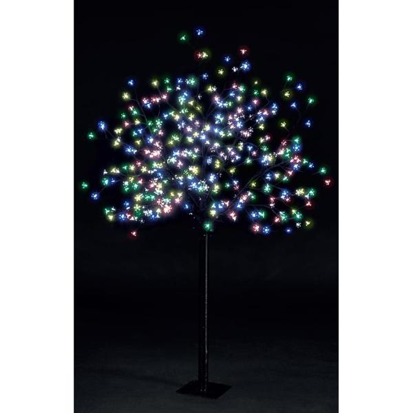 Image of Outdoor LED Cherry Blossom Tree - 1.8m with 350 Multi-Function LED Lights 357293