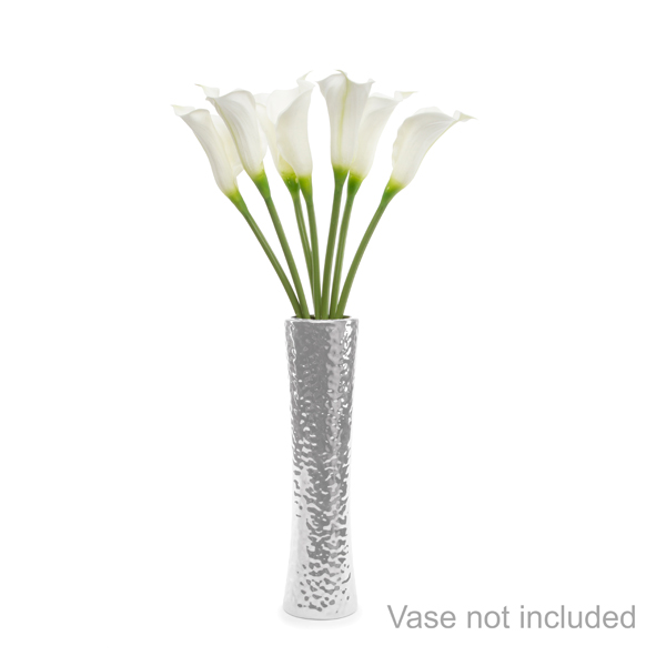 Calla Lily Flowers Bouquet with 7 LED Lights - Scented White