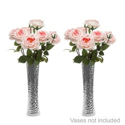 Twinpack Rose Large Bouquet with 7 LED Lights - Scented
