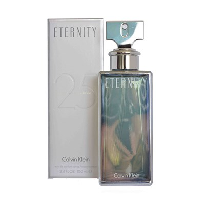 Calvin Klein Eternity Femme Silver 25th Anniversary Eau De Parfum Spray 100ml