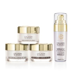 Elizabeth Grant Collagen Re-inforce Collection - Day Creme 50ml, Night Creme 50ml, Miracle Concentrate 30ml, Eye Creme 30ml