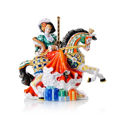Christmas Carousel by English Ladies - Height 26cm - Limited Edition of 750