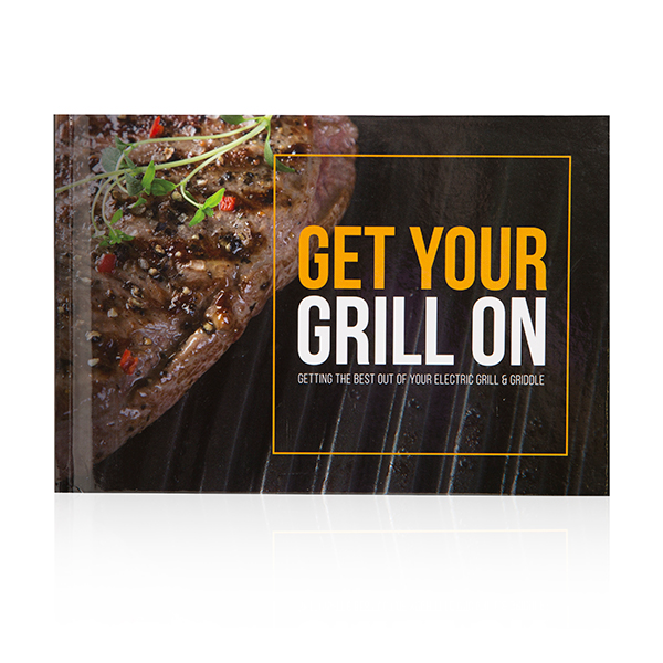 Get Your Grill On Recipe Book No Colour