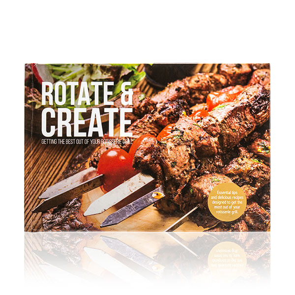 Rotate and Create Recipe Book No Colour