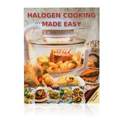 Halogen Cooking Made Easy Recipe Book (2) by Paul Brodel