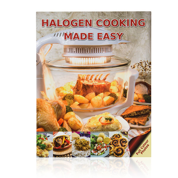 Halogen Cooking Made Easy Recipe Book (2) by Paul Brodel No Colour