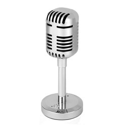 Intempo Silver Portable Microphone Speaker