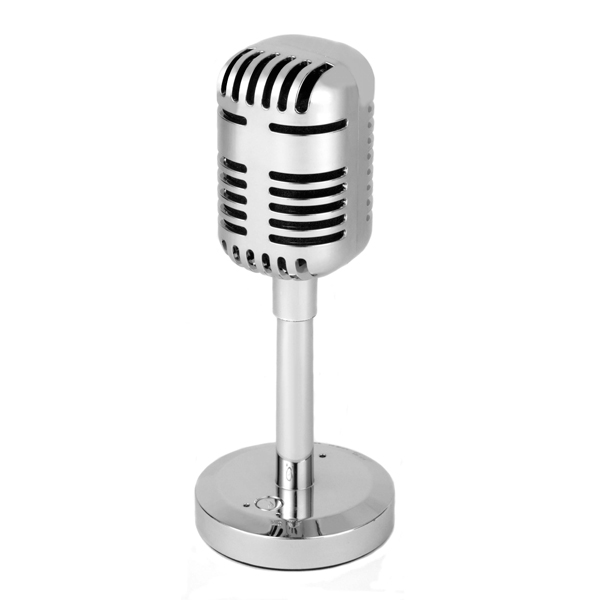 Intempo Silver Portable Microphone Speaker 359055