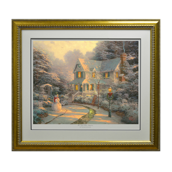 Thomas Kinkade The Night Before Christmas Limited Edition Print No Colour