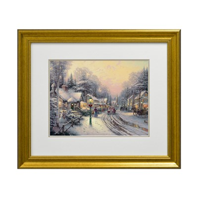 Thomas Kinkade Village Christmas Open Edition Print