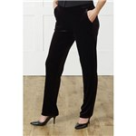 Velour Slim Leg Trouser