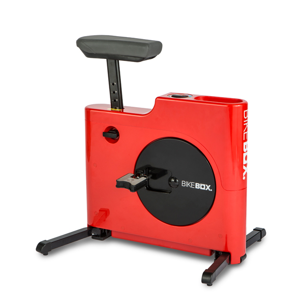 Bike Box Hands Free Compact Exercise Bike Red