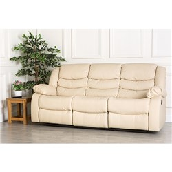 The Furniture Collection Havana Three Seater Recliner Sofa